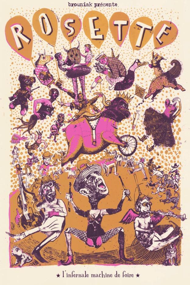 Carte postale Rosette